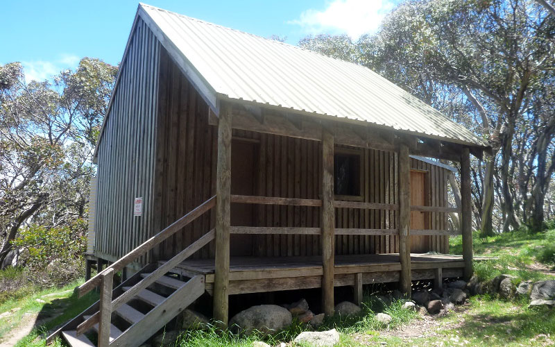 Buller Huts Trail Bluff Spur Hut