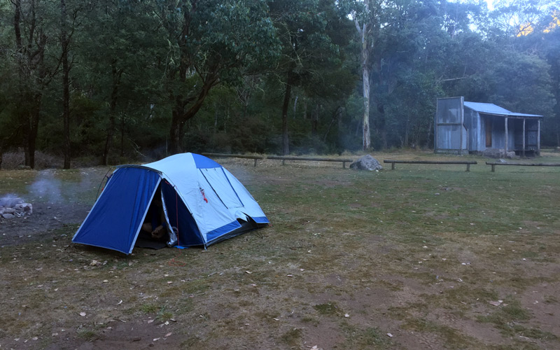 King Hut Camping Area