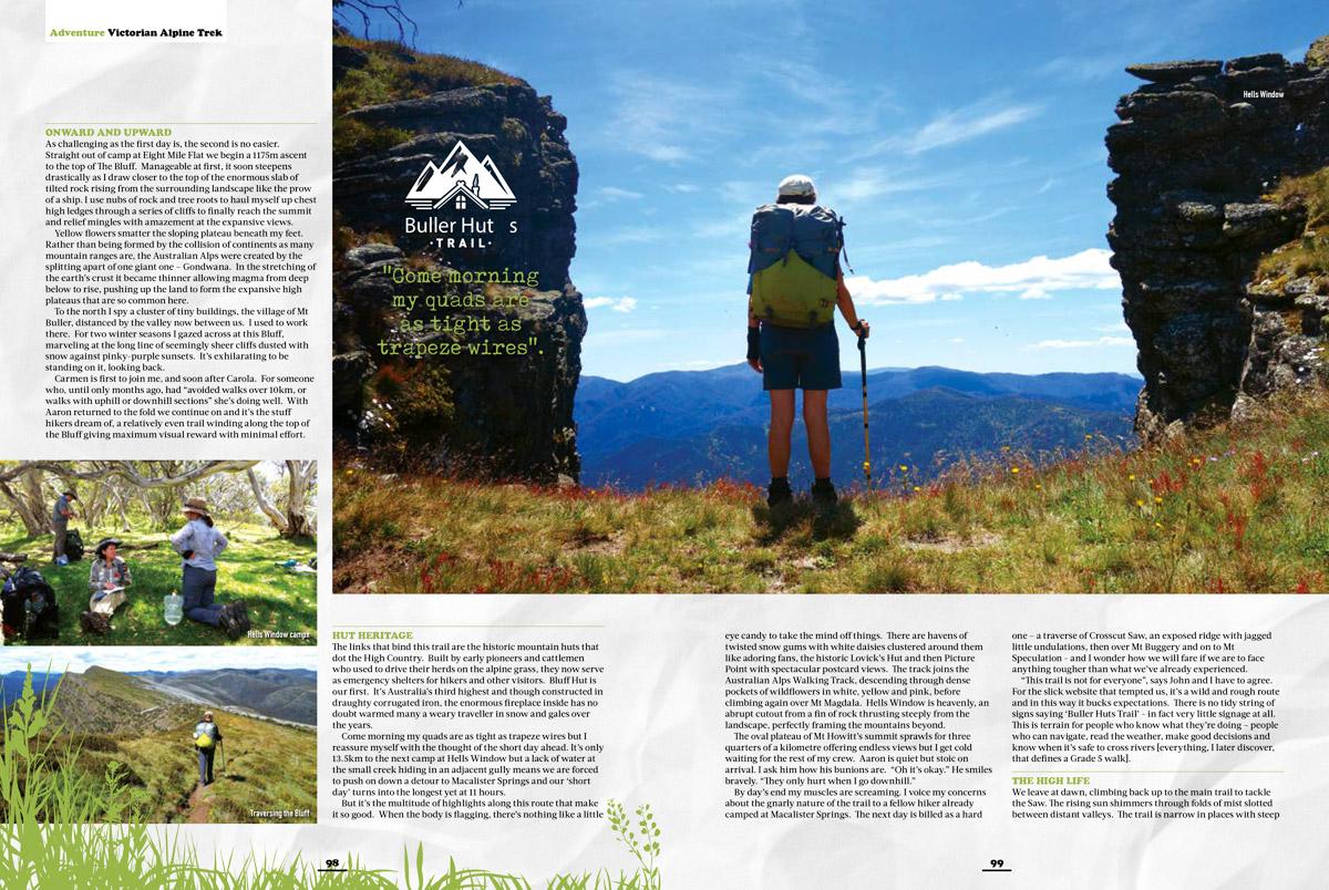 Buller Huts Trail